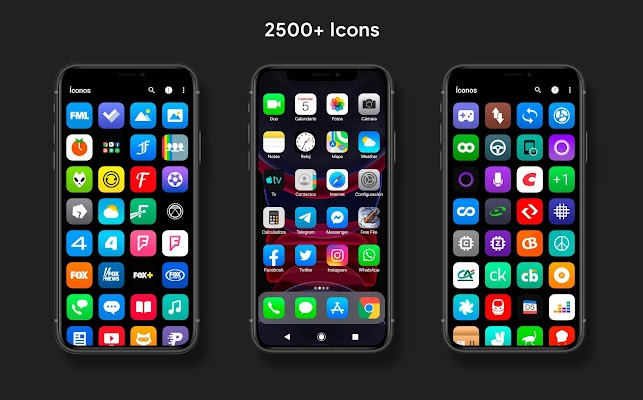 iPear 13 - Icon Pack Screenshot Image