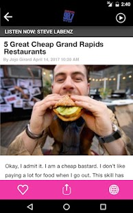 98.7 WFGR - Grand Rapids Greatest Hits Radio- screenshot thumbnail