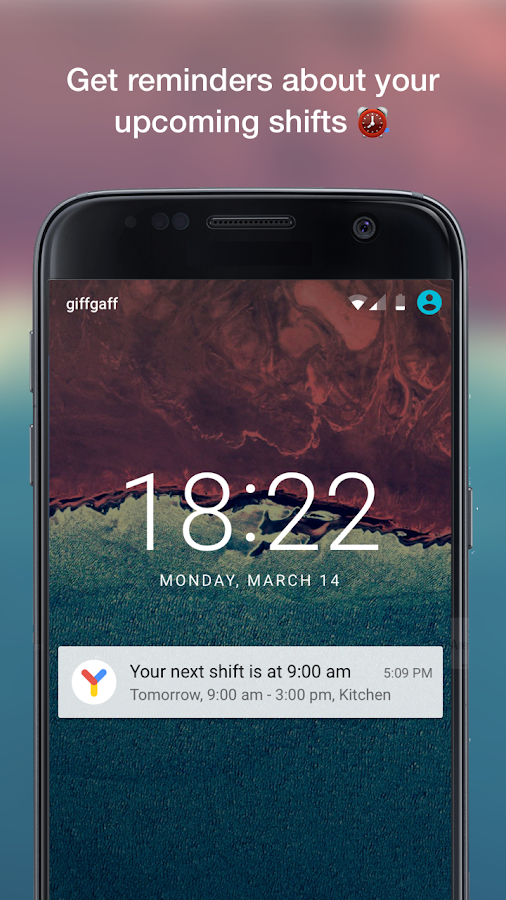 Yavi - Work Schedule with Chat- screenshot