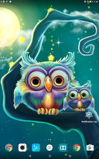 3d Fireflies Live Wallpaper Apk Cute Owls Live Wallpaper Apk 1 0 2 Download Only Apk