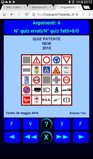 Quiz Patente Argomento 1.3 screenshots 10