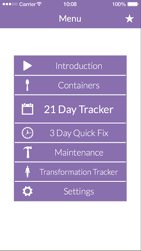 21 Day Fix® Tracker – Official Screenshot