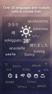 Amber Weather- screenshot thumbnail