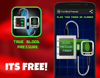 Finger Blood Pressure 2 Prank screenshot 0