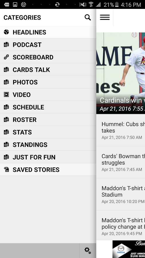 Post-Dispatch Baseball- screenshot