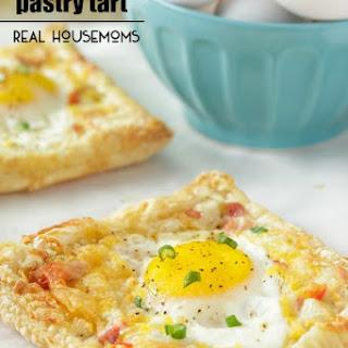Ham and Cheese Egg Pastry Tart Recipe