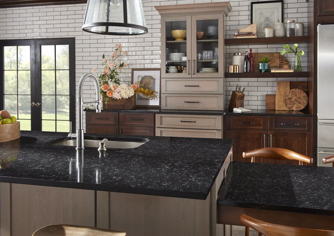 Black Quartz Countertops 9 Stunning Design Ideas For Your Home Hanstone Quartz