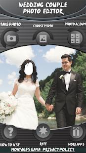 Svatební fotografický editor - náhled