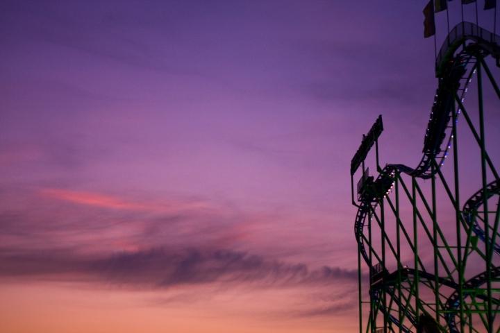Al tramonto, inizia la FESTA di Alessio Parauda