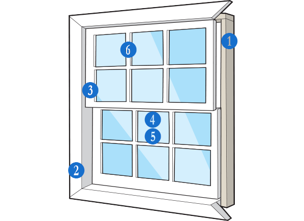 window partspng - Window Frame Replacement