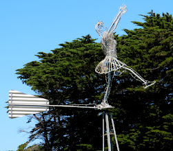 Photo: Year 2 Day 143 -  One for Dee - a Netball Player Weather Vane (Nirranda Netball District)