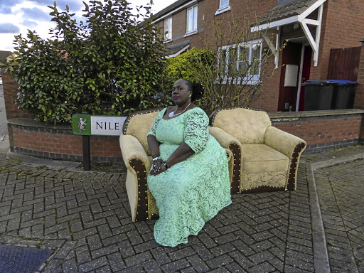 Living large: Maureen of London took this self-portrait for the Through Positive Eyes exhibition, which aims to destigmatise HIV/AIDS. The exhibition showcases the work of HIV-positive participants, from 10 cities across the world, who captured their lives on camera. Picture: Supplied