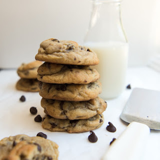 Soft & Chewy Chocolate Chip Cookies.