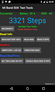 MI Band SDK Test Tools ( BLE )- screenshot thumbnail