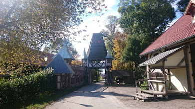 Photo: entering the kaltenberg castle