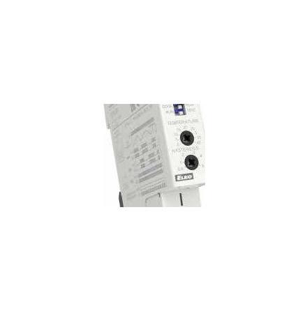 Termostat 24-240VAC/DC, 0 - +40 C, 1 modul