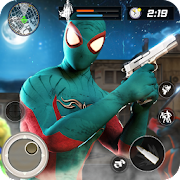 Spider Anti terrorist Battle - Neighbor War Hero