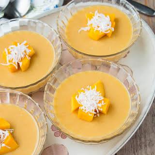 Mango Pudding {video recipe}.