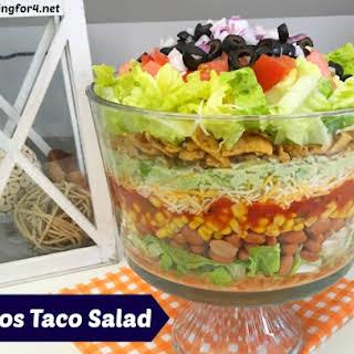 Fritos Taco Salad.
