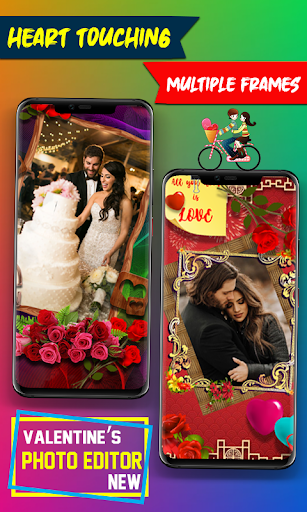 New Valentine Day Love Photo Editor - Love Frames screenshot 9