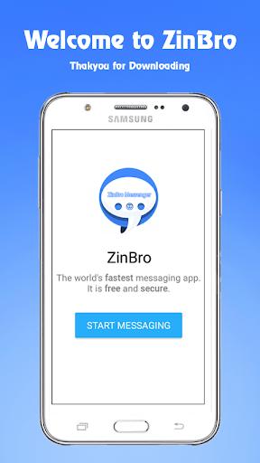 ZinBro Messenger Apk Download Free for PC, smart TV