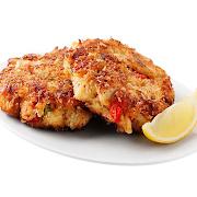 Crab & Lobster Tikki Cakes (2 Pieces)