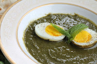 Egg in Green Curry