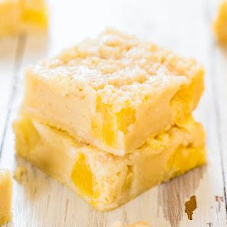 Tropical Escape Soft Pineapple Crumble Bars Recipe