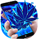 Download Blue Flame Weed Rasta Theme For PC Windows and Mac