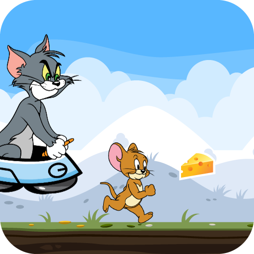 Adventure Tom and Jerry Run: Escape from Alien Icon
