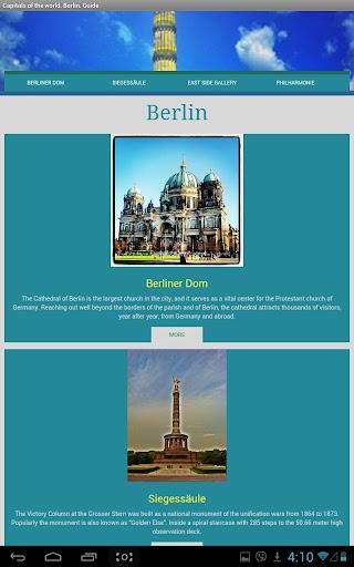 World Capitals. Berlin. Guide