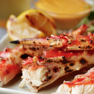 Grilled Alaska King Crab with Tabasco® Aioli Recipe