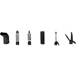 Perie de par 6 in 1, 6 accesorii, 800-1000W, Victronic VC414