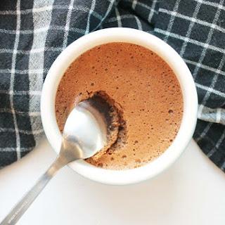 Sea salt Milk Chocolate Mousse.