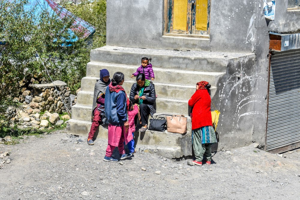 people of spiti in a spiti valley travel blog