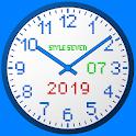 3D Analog Clock Live Wallpaper-7 icon