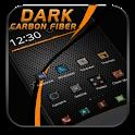 Black Carbon Fiber Theme icon