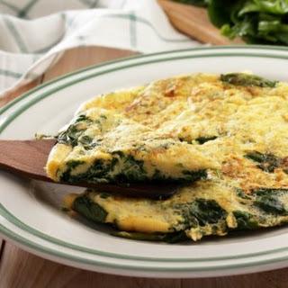 Blended Green Omelette