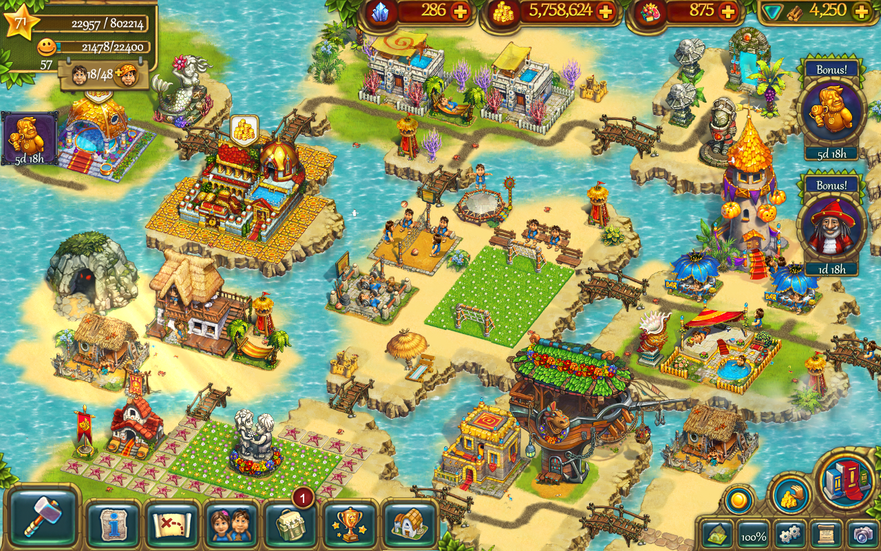 The Tribez: Build a Village- screenshot