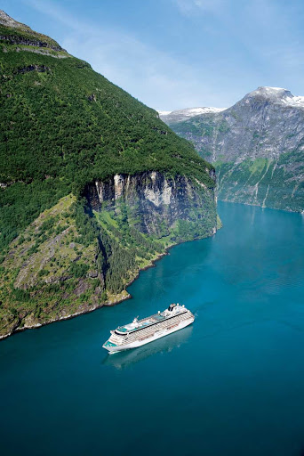See the fjords of Norway on Crystal Serenity.