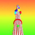 Helix Race 3D : Color Ball Run Through Platforms icon