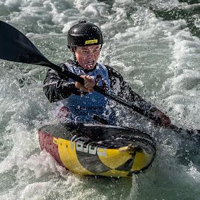 Attacking by Mike Watts - Sports & Fitness Watersports ( canoe, kayak, women, whitewater )