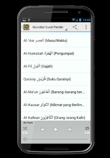 Surat Surat Pendek Al Quran for PC