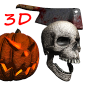 3D Halloween Live Wallpaper FR
