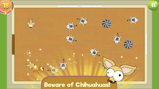 Flat Fat Cat Bounce: Crazy action puzzle- screenshot thumbnail