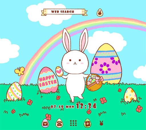 背景圖片/icon 復活節兔