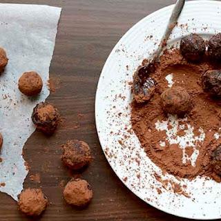 Chocolate and Irish Baileys Cream truffles