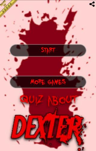Quiz about Dexter