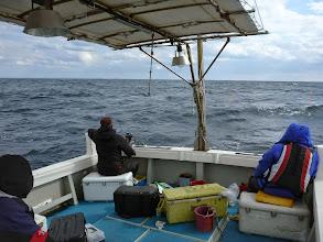 Photo: 「何でか? ウキはズボズボ入るけど魚が上がってこんぞ!」・・・サメの仕業です!