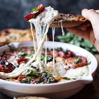 Margarita Pizza Dip (withBurrata!!).